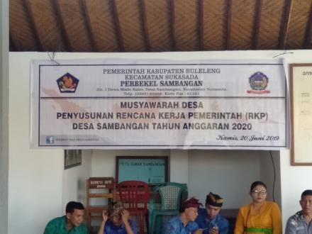 Musdes Penyusunan RKP Desa Tahun 2020