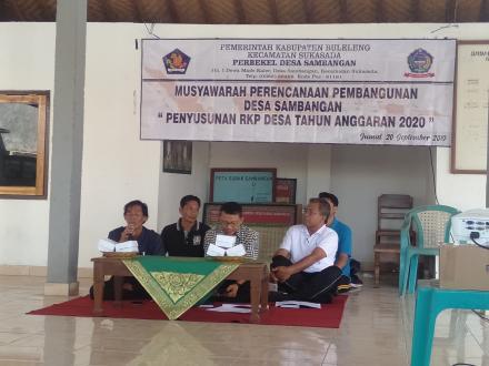 Musrembang Perencanaan Pembangunan Desa Sambangan