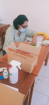 Posyandu Balita serta Pemberian Vitamin A dan Obat Cacing